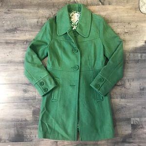 Vintage Wool Green Jacket